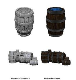 Wizkids Barrel & Pile of Barrels (Wave 5)