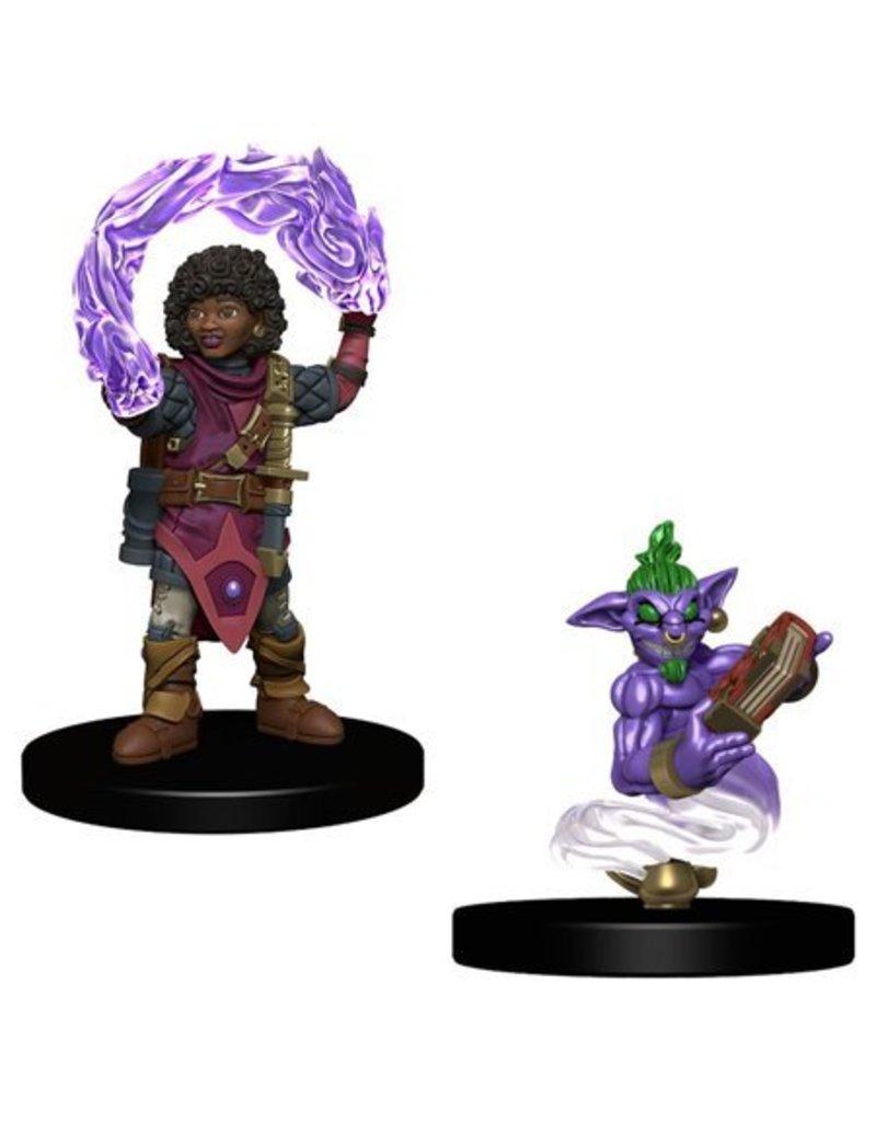 Wizkids Wizkids Wardlings Miniatures: Girl Wizard and Genie (Wave 1)