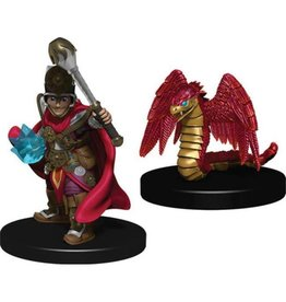 Wizkids Boy Cleric and Winged Snake (Wave 1)