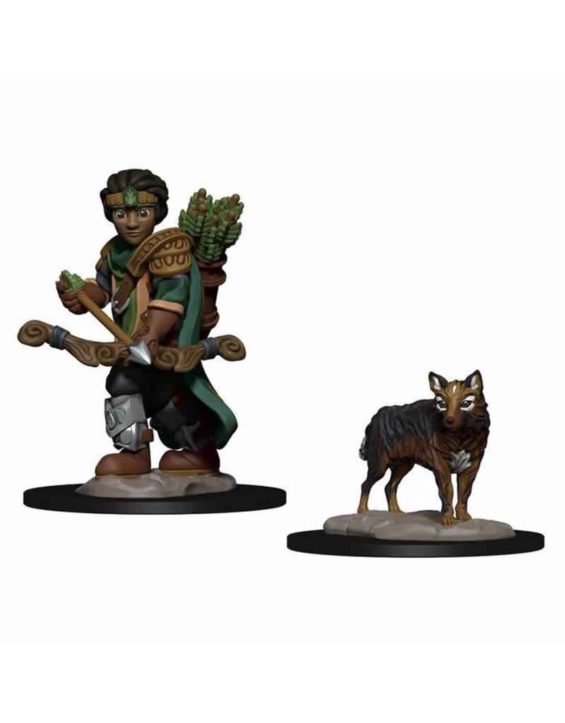 Wizkids Wizkids Wardlings Miniatures: Boy Ranger & Wolf (Wave 2)