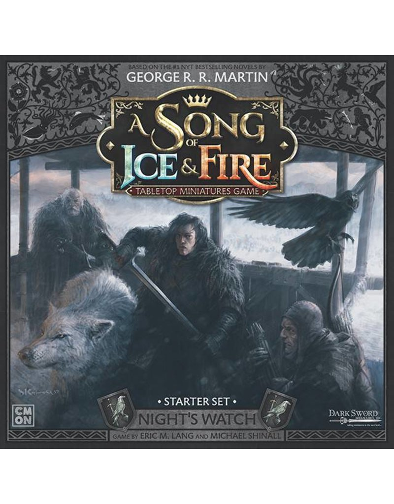 CMON Ltd Night's Watch Starter Set: A Song Of Ice and Fire Core Box