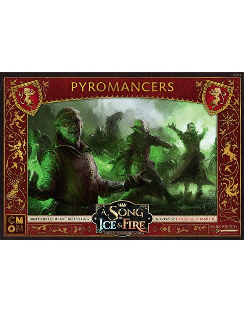 CMON Ltd House Lannister: Pyromancers: A Song Of Ice and Fire Expansion