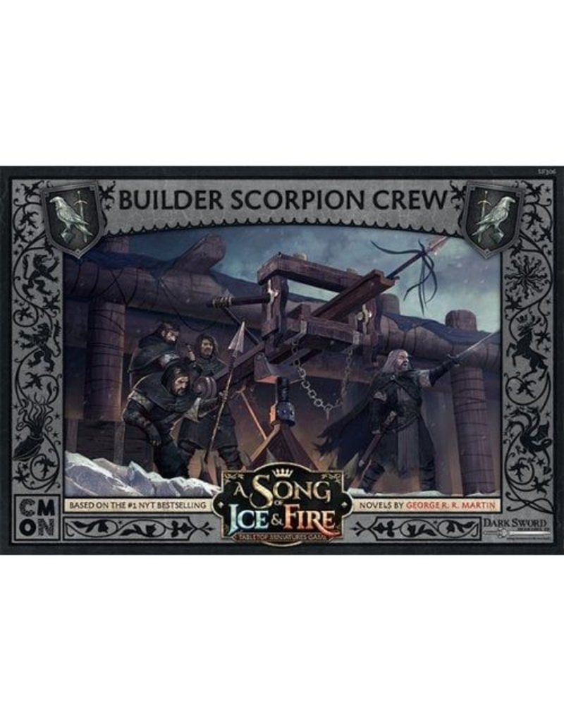 CMON Ltd Builder Scorpion Crew: A Song Of Ice and Fire Expansion