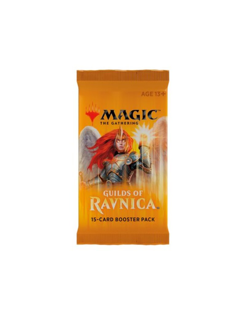 Wizards of the Coast Magic The Gathering: Guilds of Ravnica Booster Pack