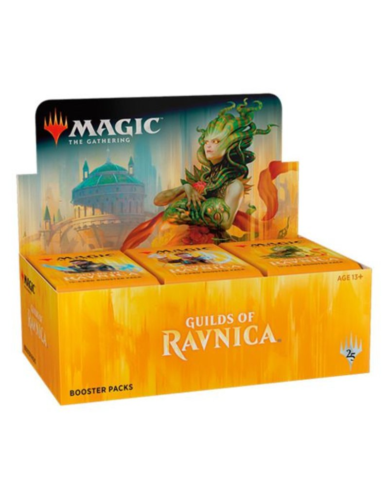 Wizards of the Coast Magic The Gathering: Guilds of Ravnica Booster Display Box