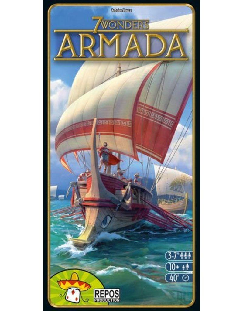 Repos Production 7 Wonders: Armada Expansion