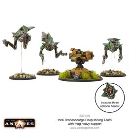 Warlord Games Deep Mining Team with Mag Heavy Support