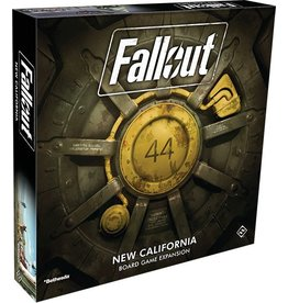 Fantasy Flight Games Fallout - New California Expansion