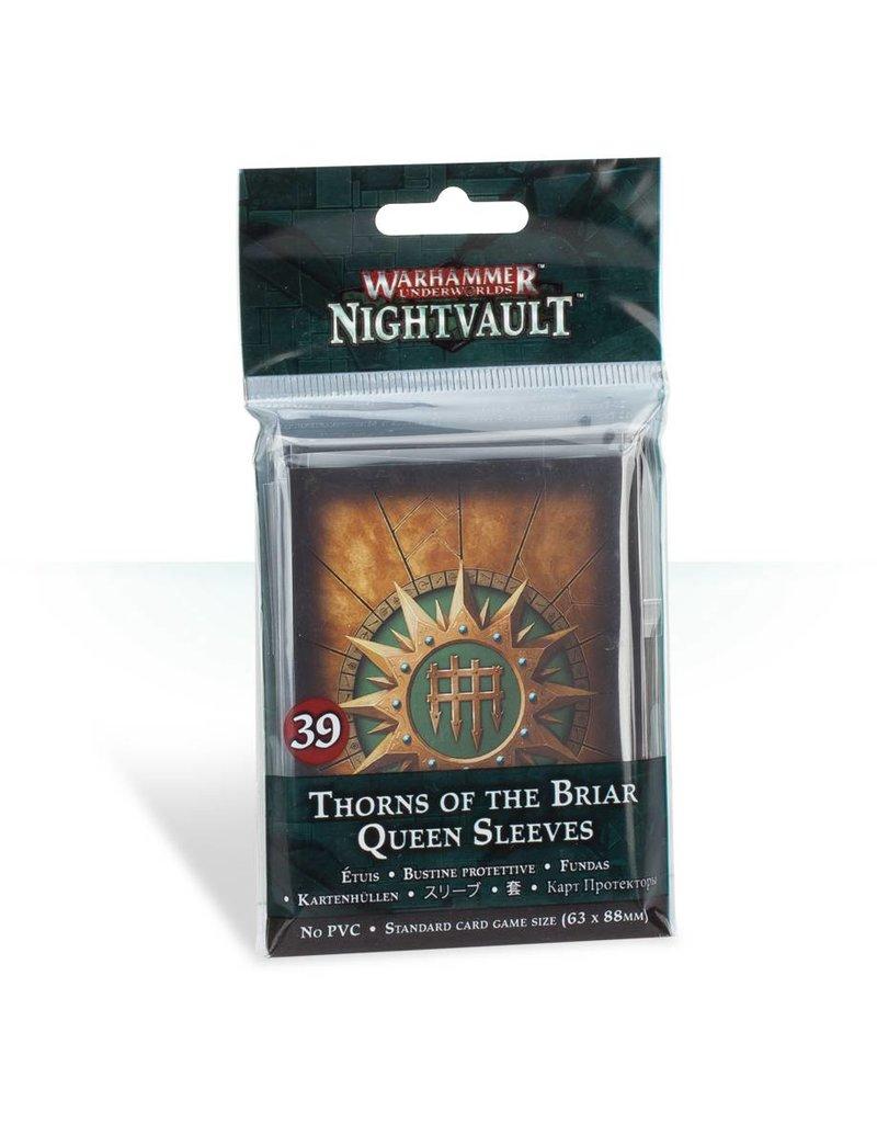 Games Workshop Warhammer Underworlds Nightvault: Thorns Of The Briar Queen Sleeves