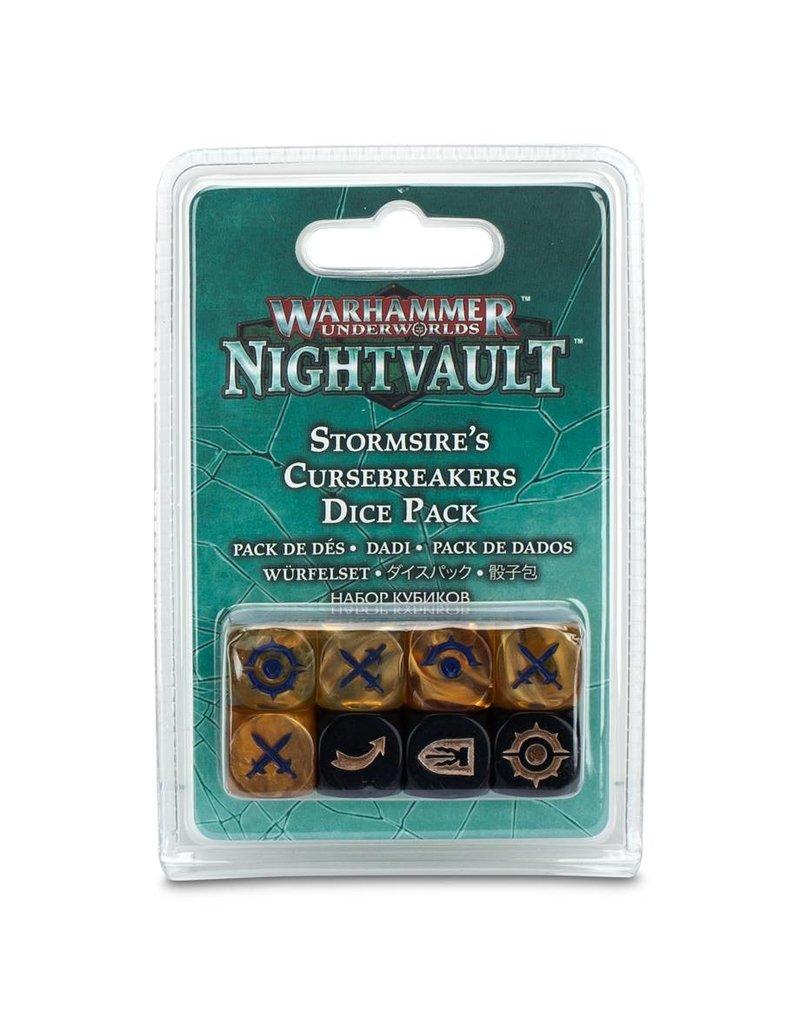 Games Workshop Warhammer Underworlds Nightvault: Stormsire's Cursebreakers Dice