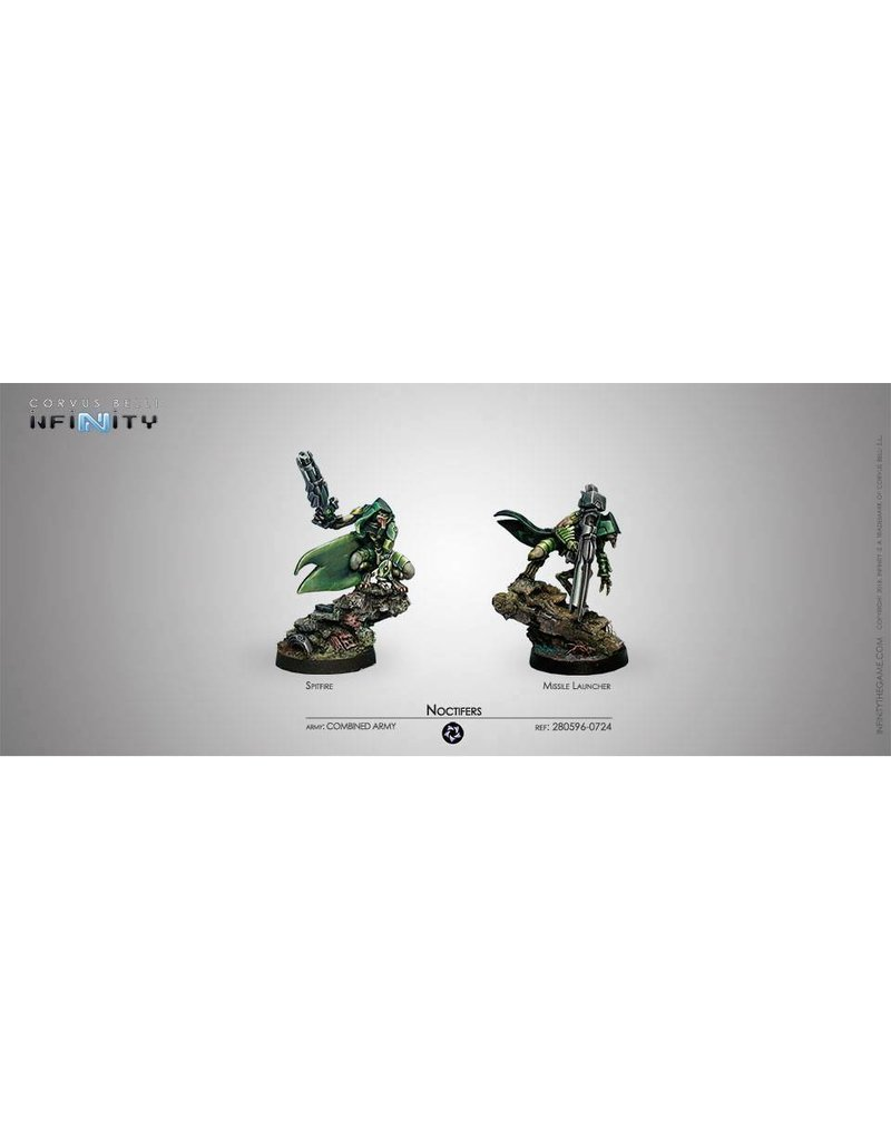 Corvus Belli Combined Army Noctifers (Spitfire/ Missile Launcher)