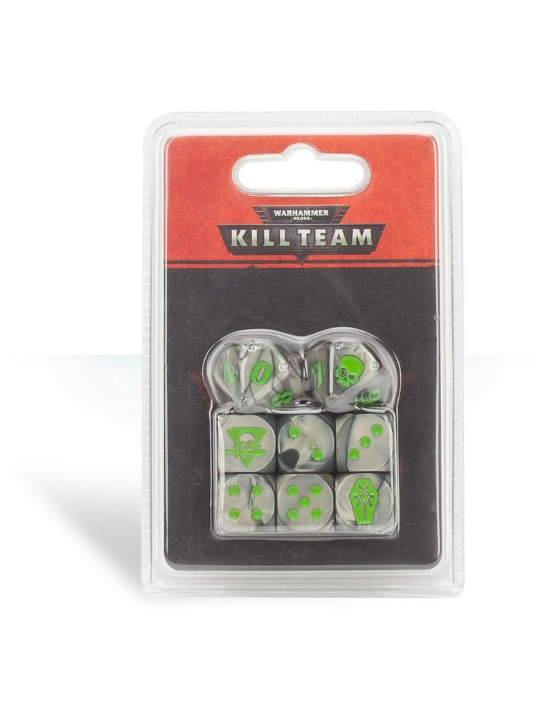 Games Workshop Kill Team Necrons Dice