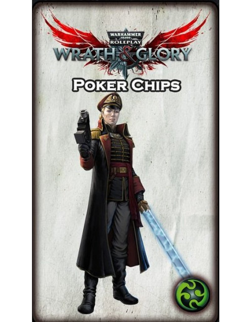 Warhammer 40k: Wrath & Glory Tokens (Wrath, Ruin, and Glory Poker Chips)