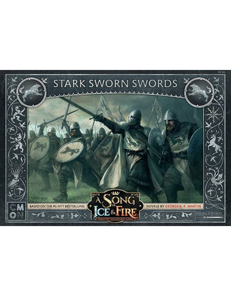 CMON Ltd House Stark: Sworn Swords: A Song Of Ice and Fire Expansion
