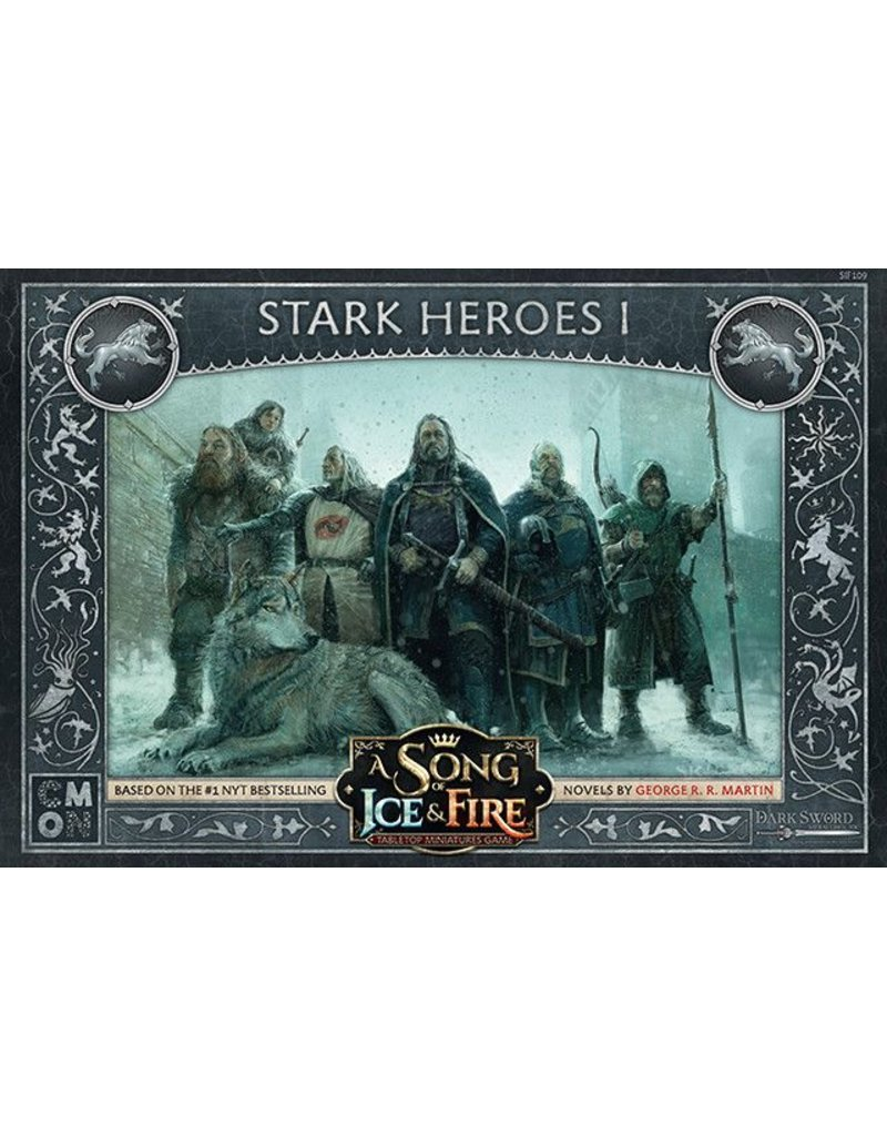 CMON Ltd House Stark Heroes 1: A Song Of Ice and Fire Expansion