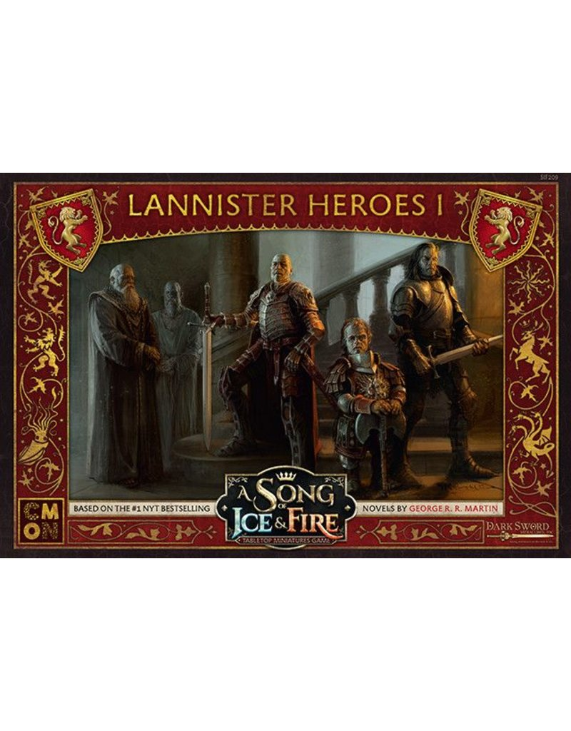 CMON Ltd House Lannister Heroes 1: A Song Of Ice and Fire Expansion