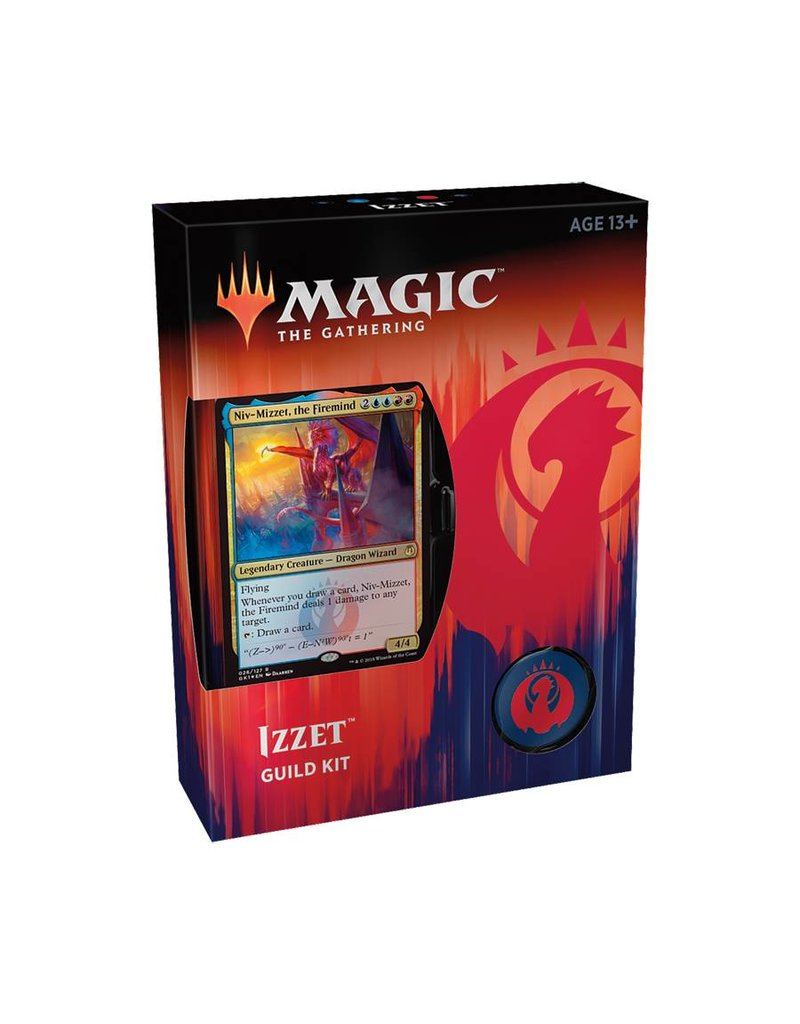 Wizards of the Coast Magic The Gathering: Guild Kit - Izzet