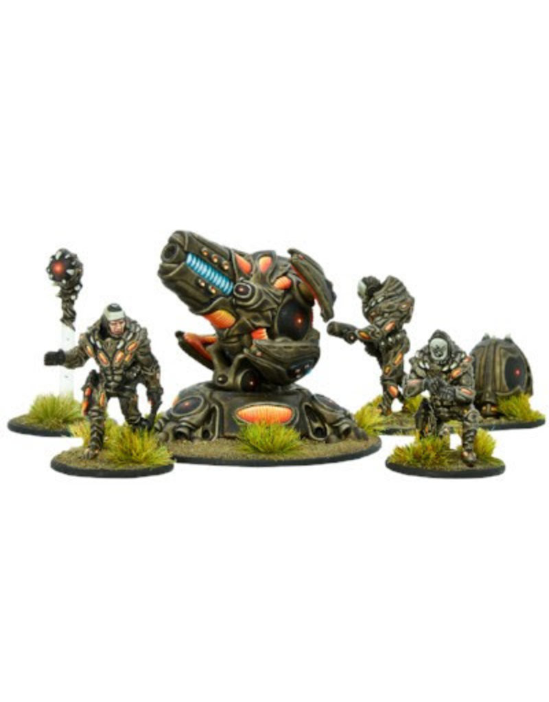 Warlord Games Isorian Support team with Plasma Bombard