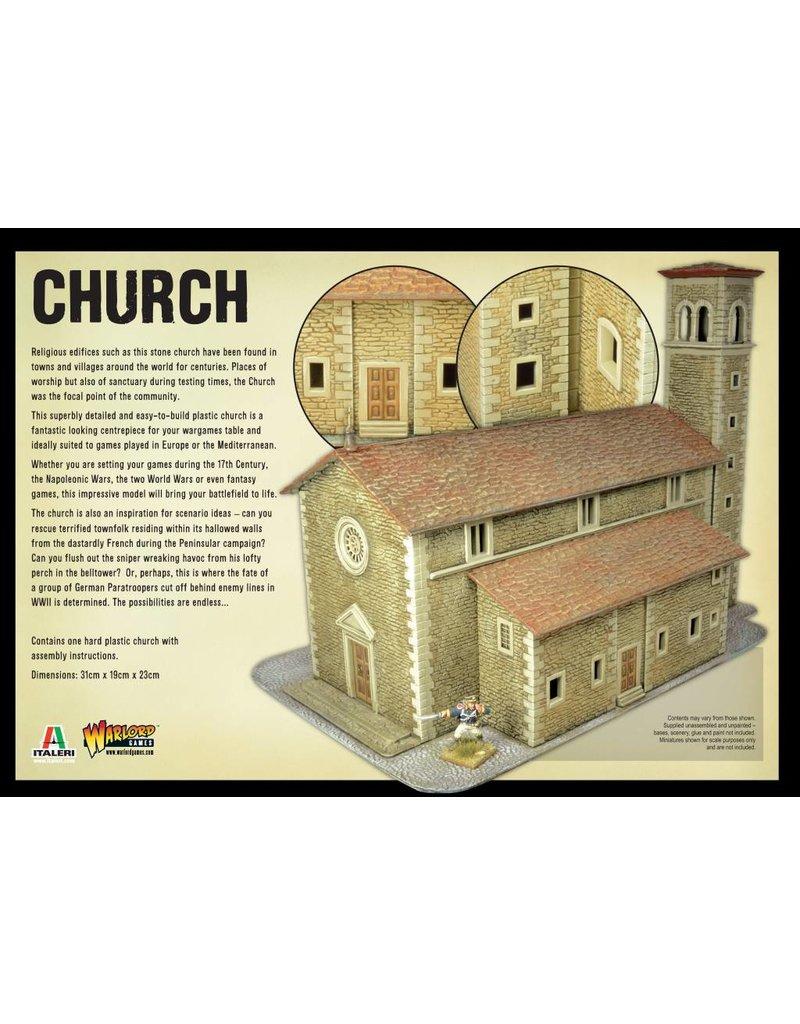Warlord Games Black Powder: Church Scenery Set