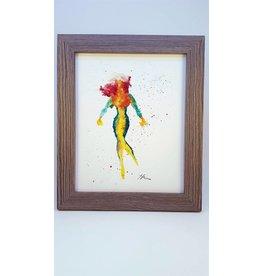 Hana Abstracts Rogue Watercolour A5