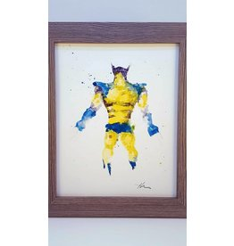 Hana Abstracts Wolverine Watercolour A4
