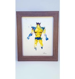 Hana Abstracts Wolverine Watercolour A5