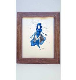 Hana Abstracts Raven Watercolour A5
