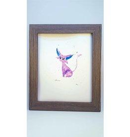 Hana Abstracts Espeon Watercolour A5