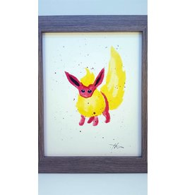 Hana Abstracts Flareon Watercolour A4