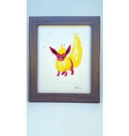 Hana Abstracts Flareon Watercolour A5