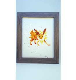 Hana Abstracts Jolteon Watercolour A5