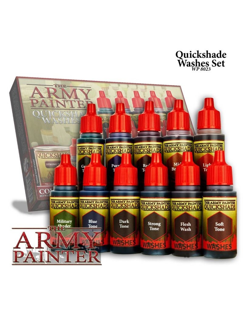 The Army Painter Quickshades Washes 11-Piece Box Set