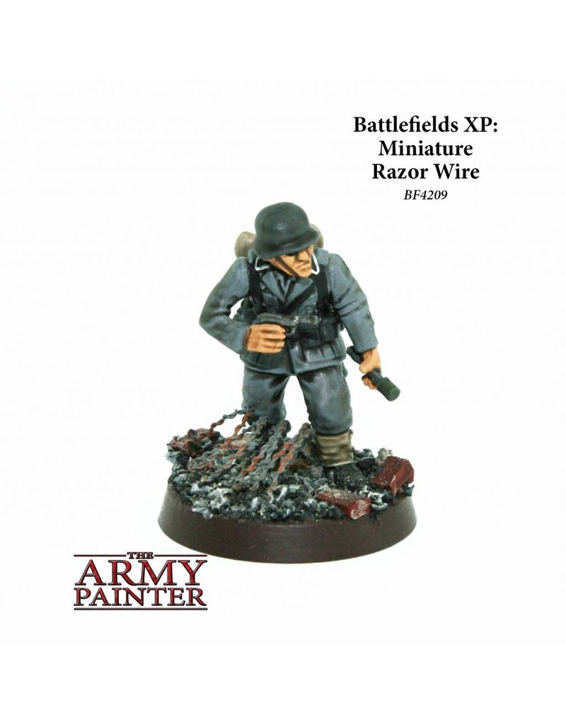The Army Painter Battlefields - Miniature Modelling Razor Wire
