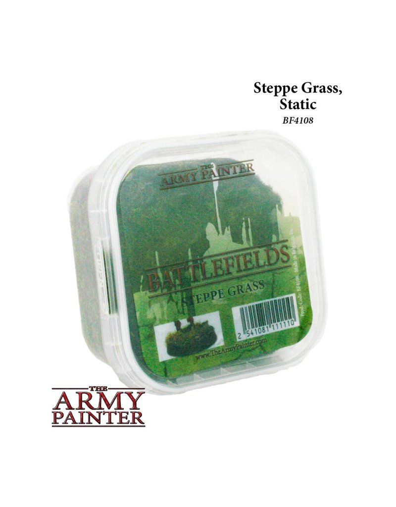 The Army Painter Battlefields: Steppe Grass Static Flock