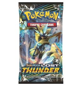 Pokemon Sun & Moon 8 Lost Thunder Booster