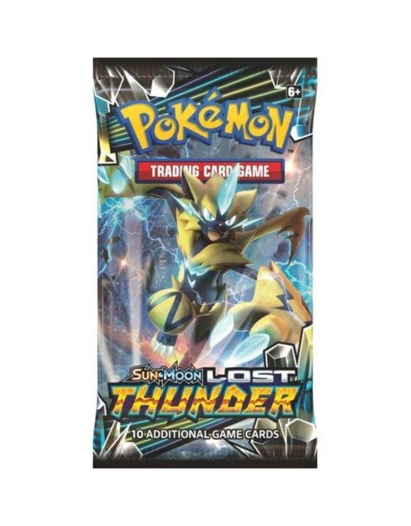 Pokemon TCG: Sun & Moon 8 Lost Thunder Booster