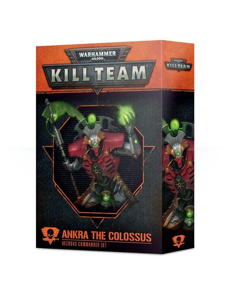 Games Workshop Necron Commander: Ankra The Colossus (EN)