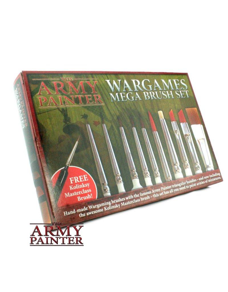 The Army Painter Wargames - Mega Brush Set