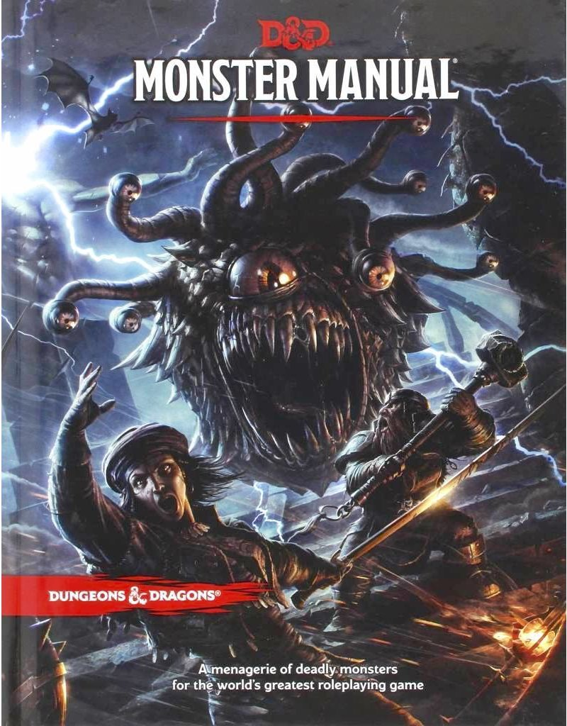 Wizards of the Coast Dungeons & Dragons RPG Monster Manual