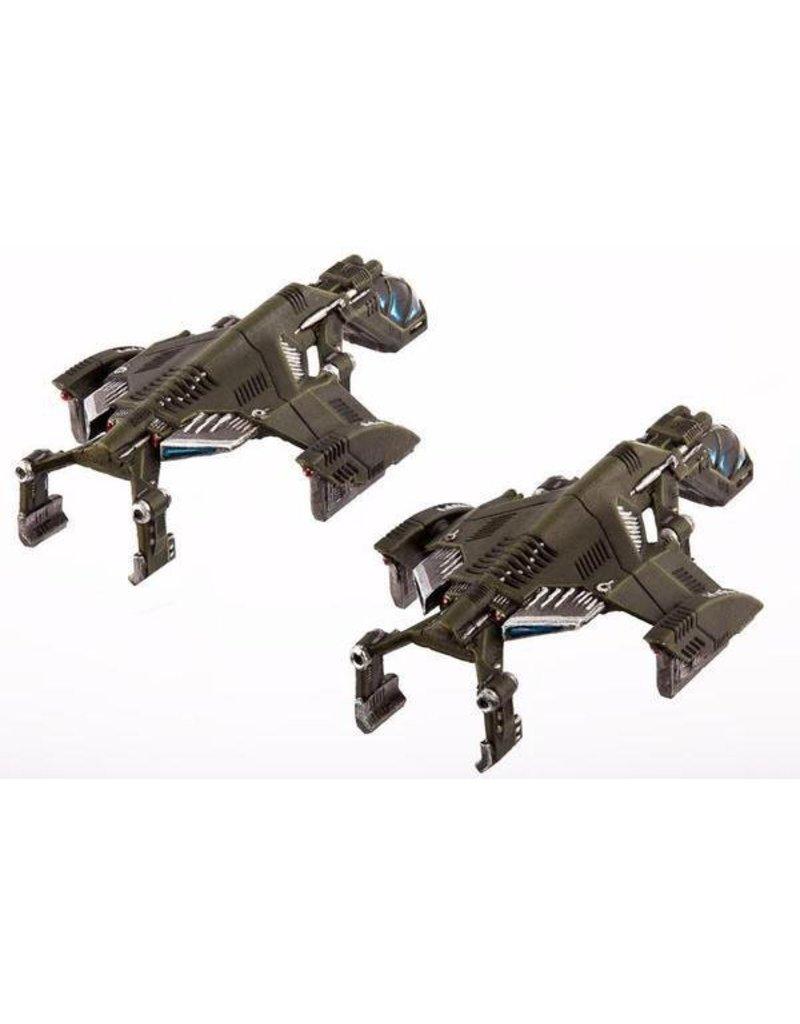 TT COMBAT UCM Raven Type-A / Type-B Light Dropships Clam Pack