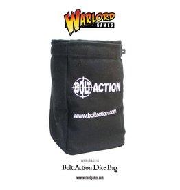 Warlord Games Dice Bag & Order Dice (Black)