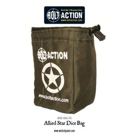 Warlord Games Allied Star Dice Bag & Order Dice