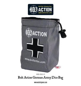 Warlord Games German Dice Bag & Order Dice