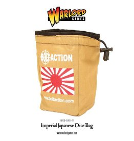 Warlord Games Dice Bag & Order Dice (White)