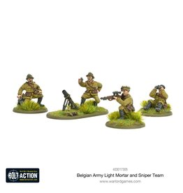 Warlord Games Belgian Army Light Mortar & Sniper Teams