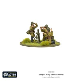 Warlord Games Belgian Army Medium Mortar
