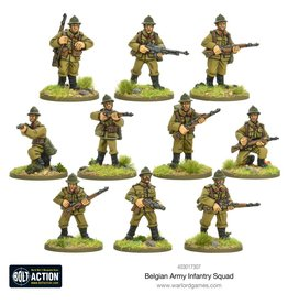 Warlord Games Belgian Infantry Squad