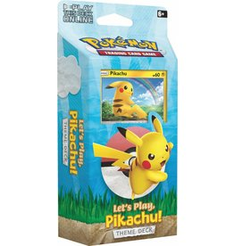 Pokemon Let's Play Pikachu! Theme Deck
