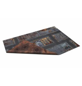 Game Mat 6'x4' Double Sided: Quarantine Zone & Fallout Zone