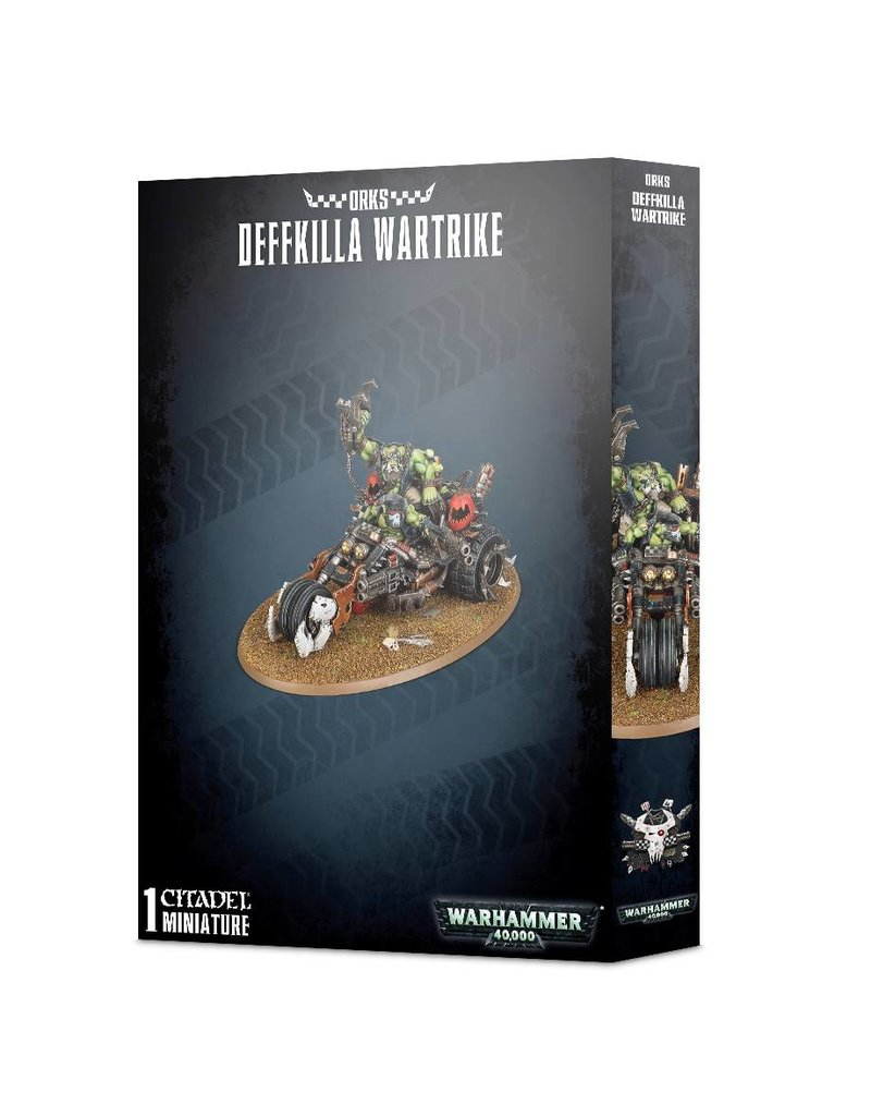 Games Workshop Orks Deffkilla Wartrike